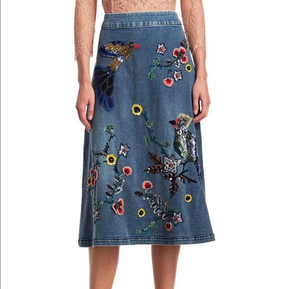 Alice + Olivia Dresses & Skirts - Brand New! Alice & Olivia denim skirt